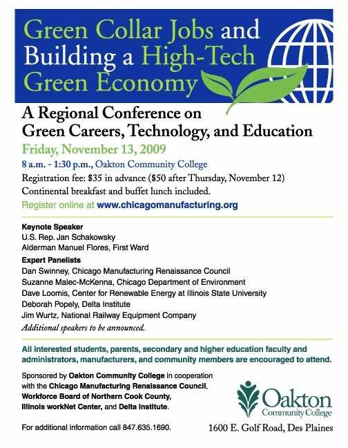A Regional Conference on Green Careers, Technology and Education