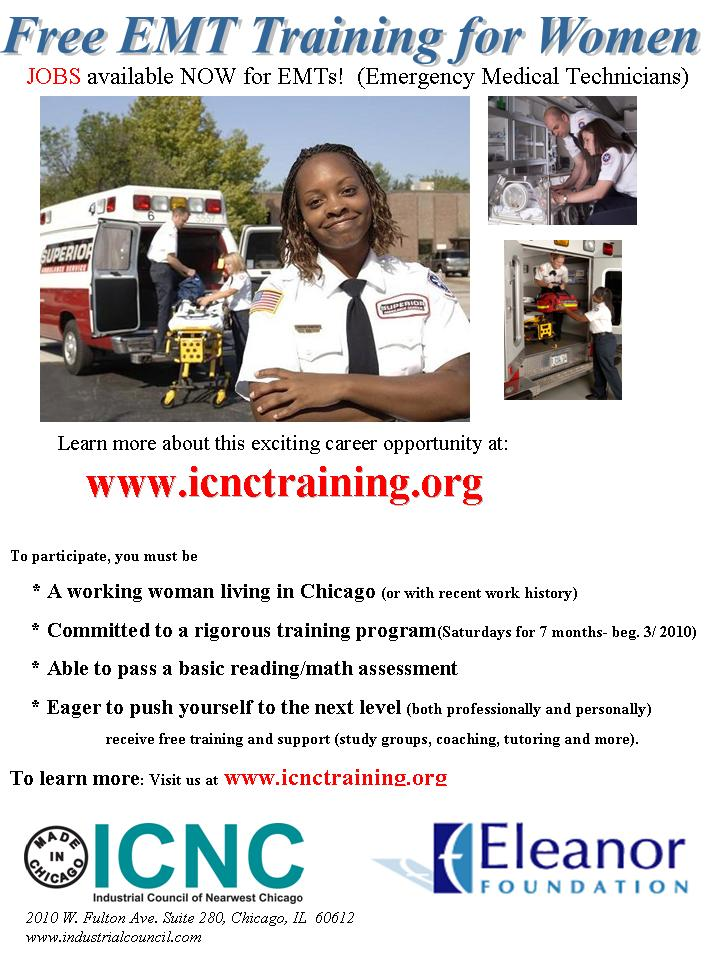 Free EMT Training for Women