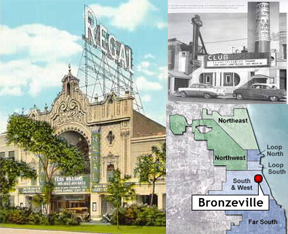 Bronzeville, Club DeLisa, The Regal Theater