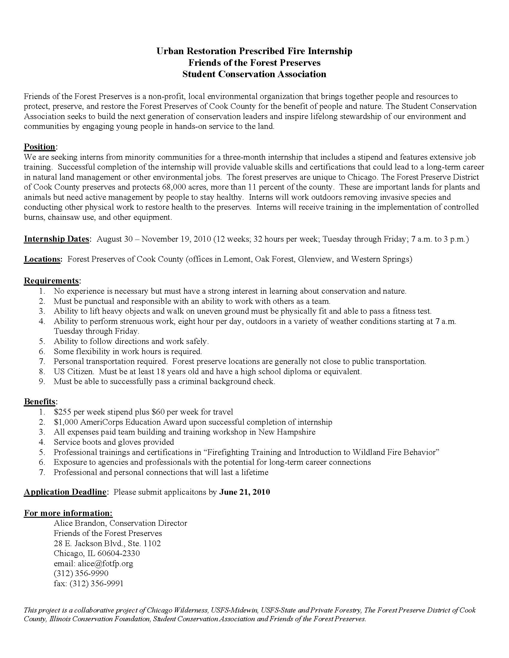... FOTFP Intern Job Description 2010_Page_1 ...
