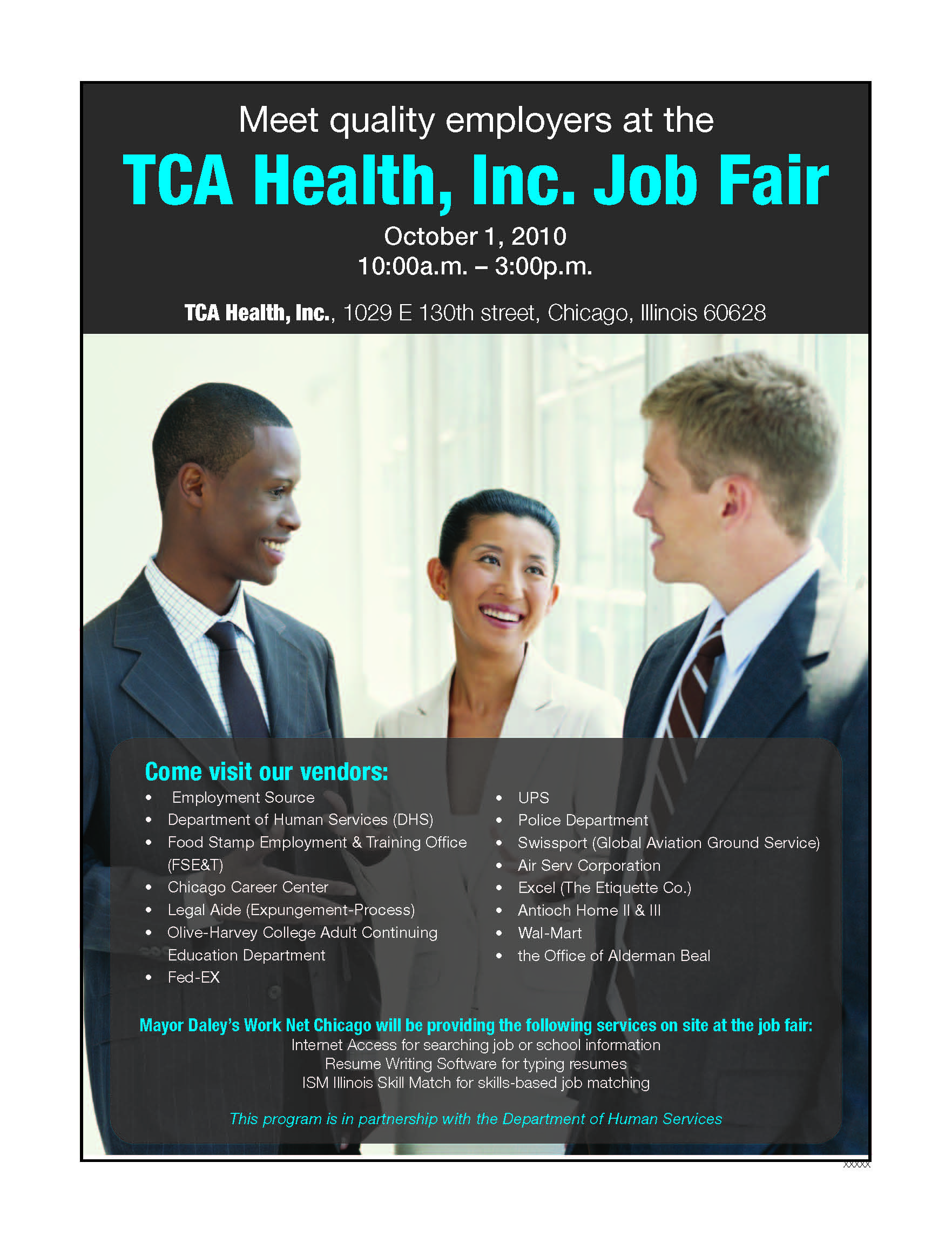 Job Fair at TCA Health