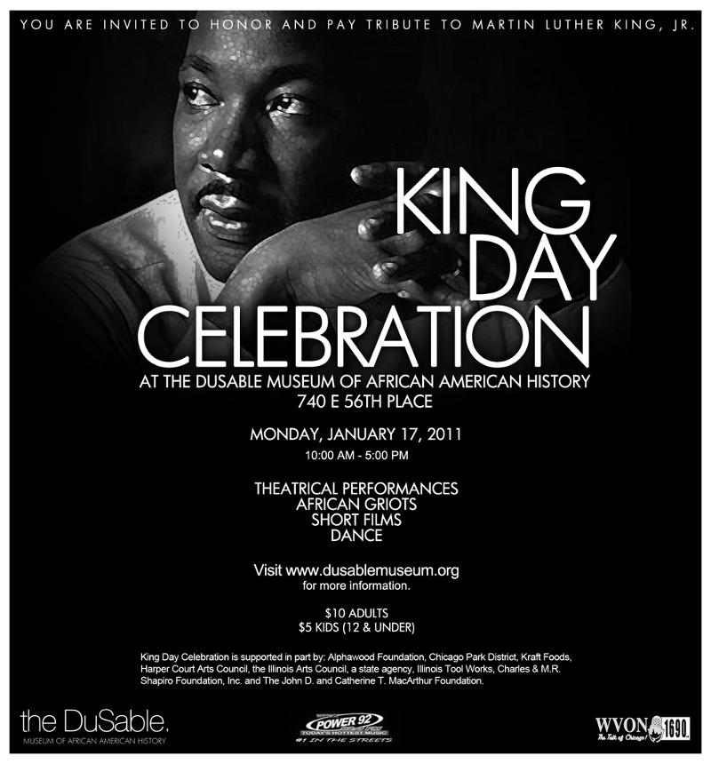 Dr. King Celebration at DuSable