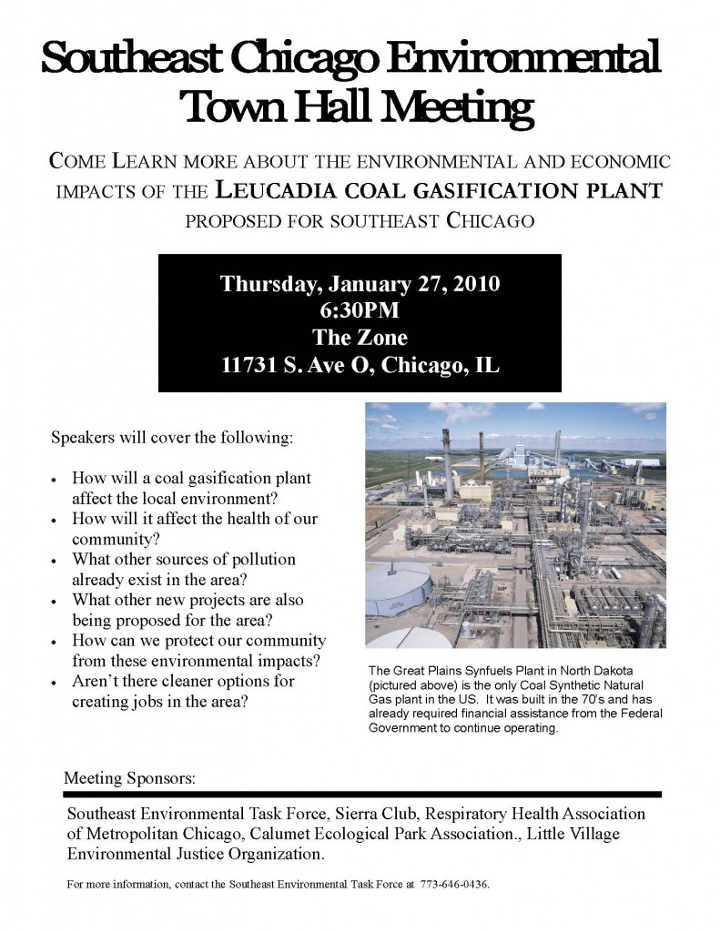 Southeast Chicago Environmental Meeting