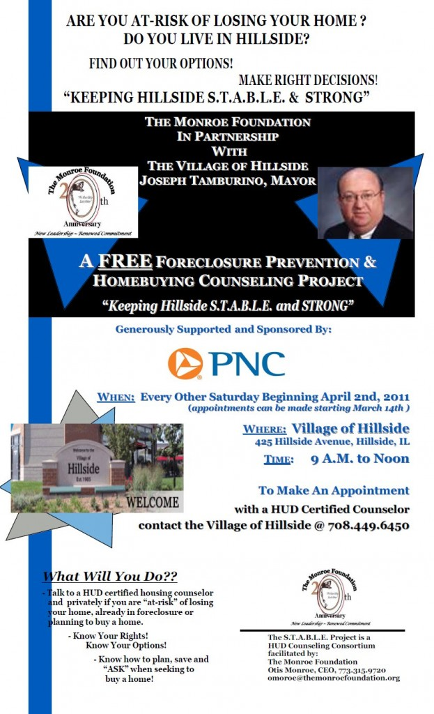 Free Foreclosure Prevention Project