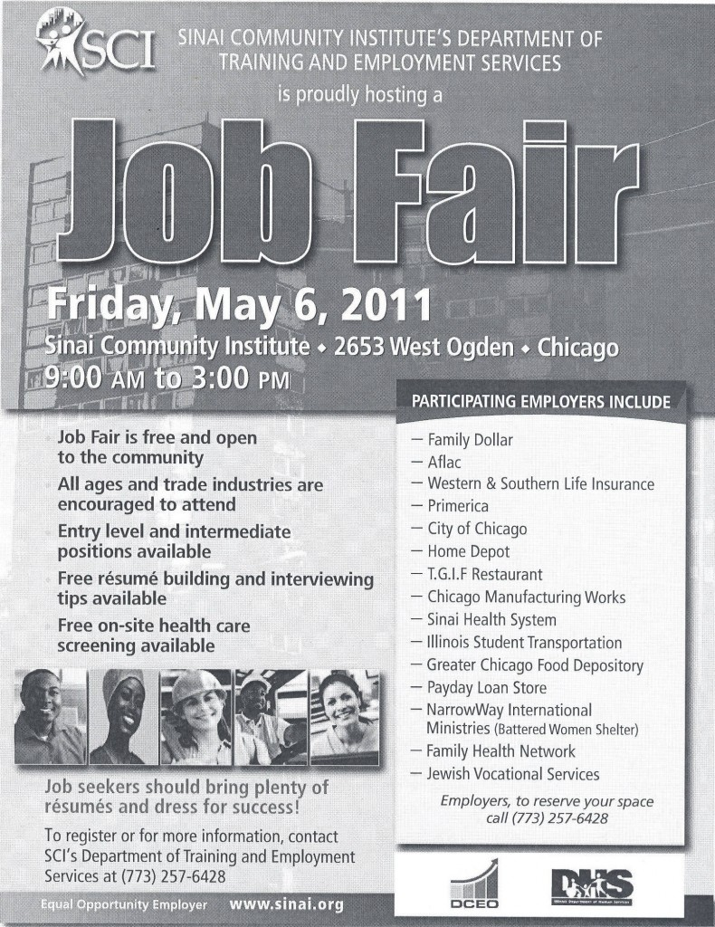 Job Fair - May 6 2011