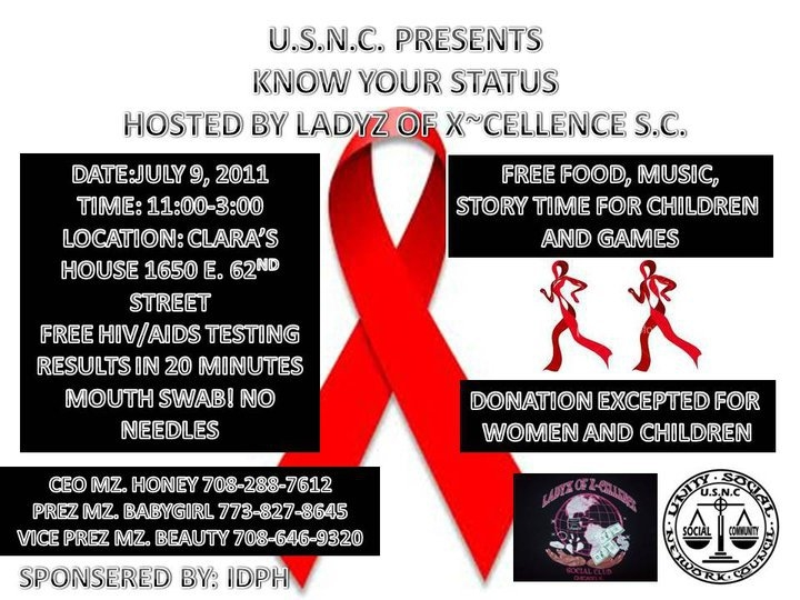 No comments free hiv aids testing know your status ladyz of x
