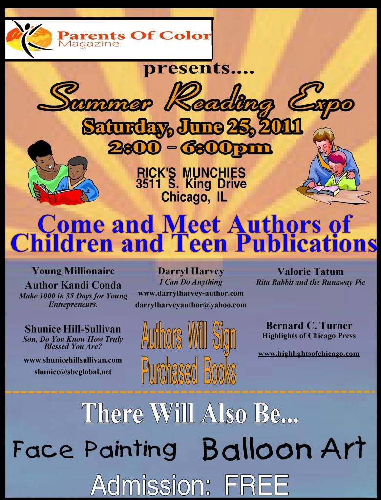 Summer Reading Expo - June 25