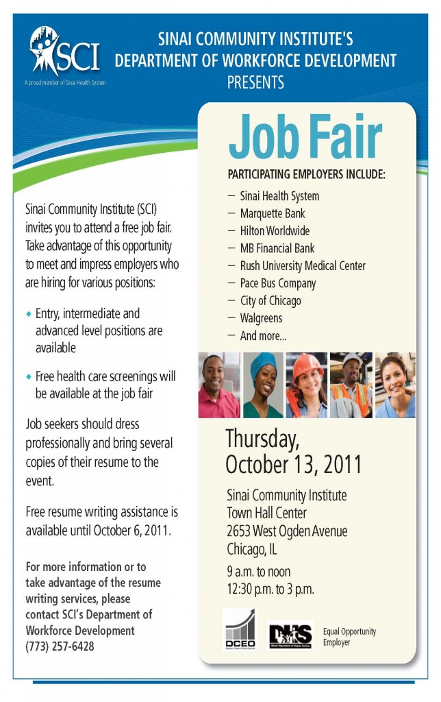 SCI Trade and Snap Job fair - Job seekers OCTOBER 2011