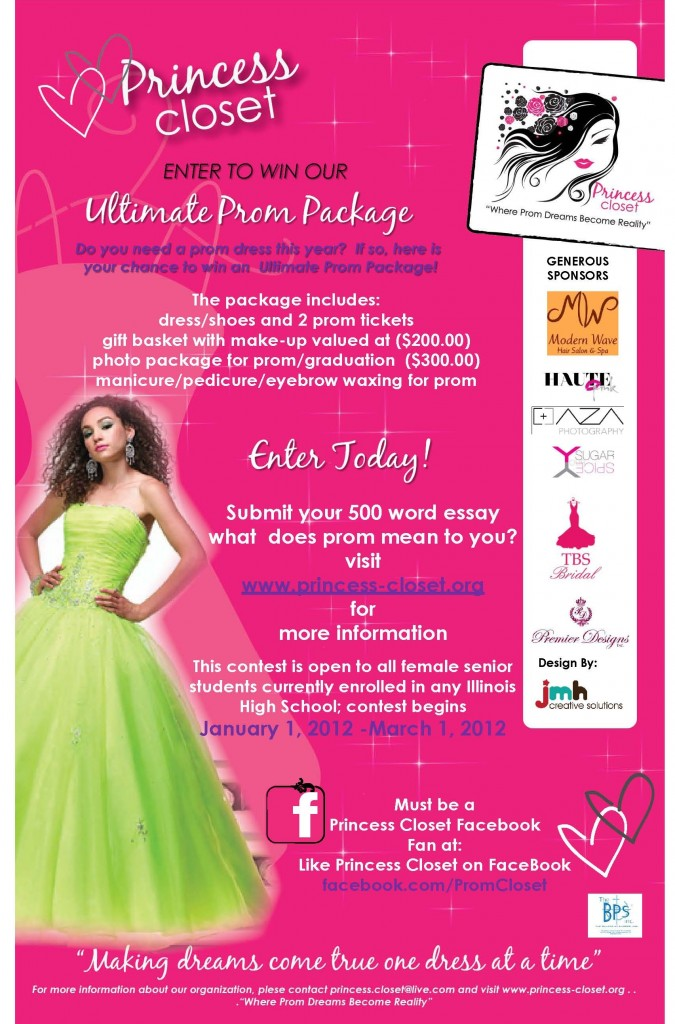 Get Free Prom Dresses Accessessories And Shoes From Princess Closet