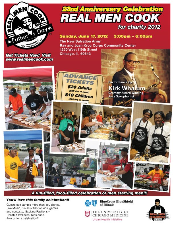 Real Men Cook - Father's Day 2012