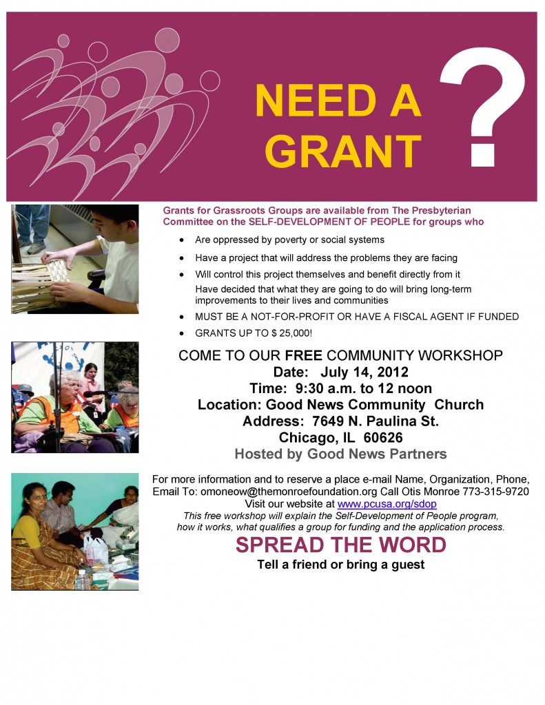 Community Grant Workshop