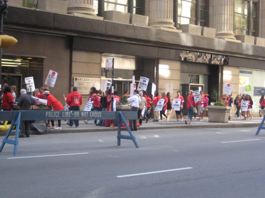 Chicago Public School Teacher Strike