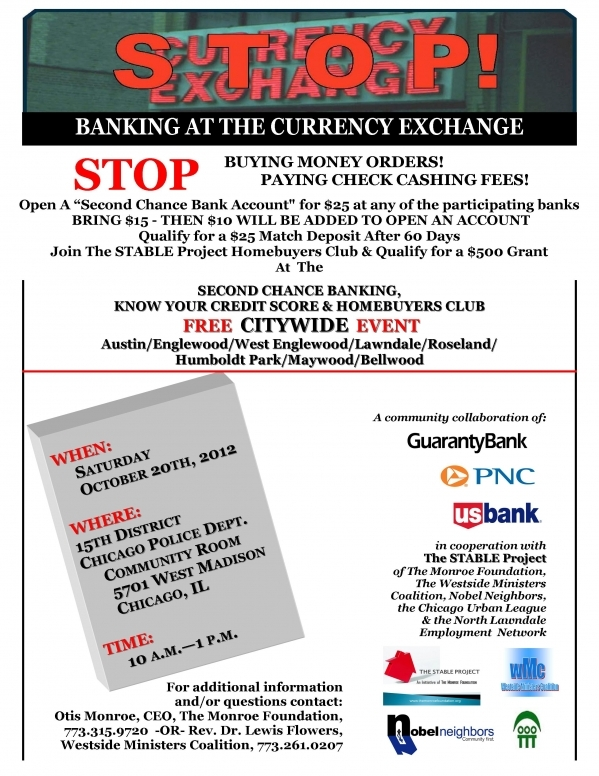 Citywide Financial Services Community Events