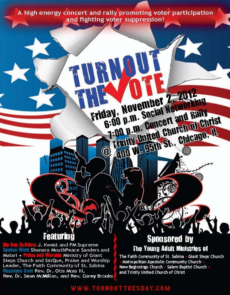 Turnout the Vote - Trinity United Church of Christ