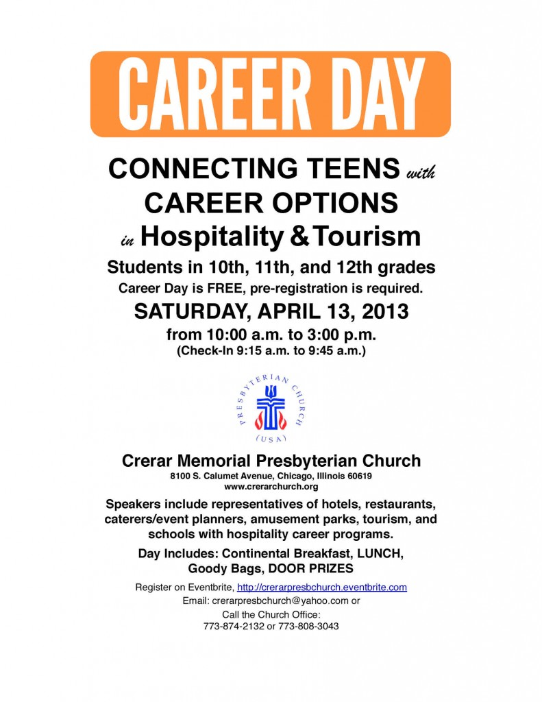 Hospitality & Tourism Career Day