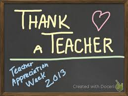 Thank A Teacher - Doceri