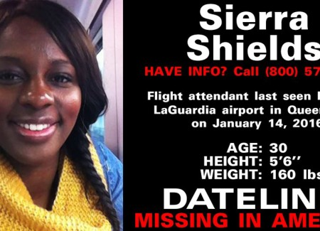 Still Looking for Sierra Shields