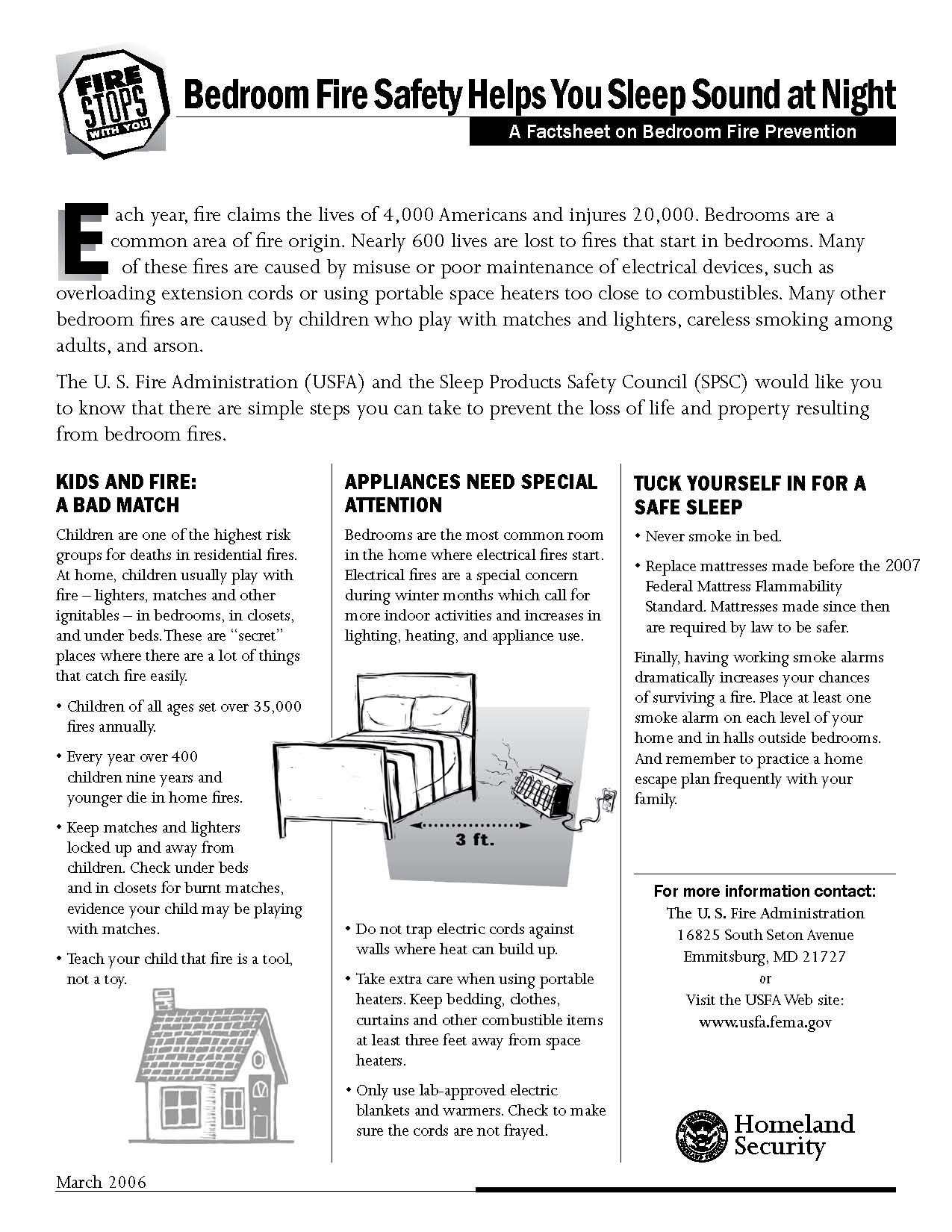 Tips on Bedroom Fire Safety - Shorty: Your Chicago South