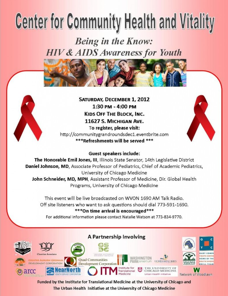 hiv  aids awareness for youth at kids off the block   december   world aids day